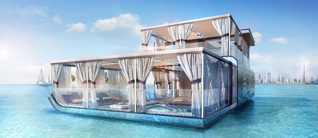 Dubai Gets Larger Floating Homes With 2 Underwater Bedrooms