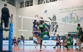 Photo: MRMR-1 top standings in NAS Ramadan volleyball