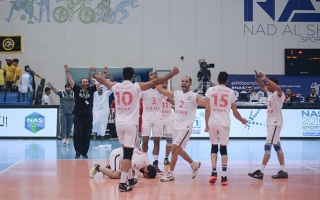 Photo: NAS Ramadan Sports: Fohood Zabeel, MRMR-2 qualify for volleyball semis