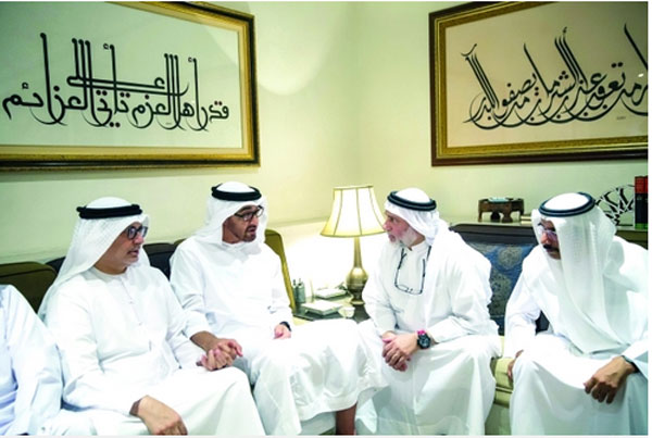 Mohamed condoles with Gargash family - Emirates24|7