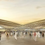 Is it a bird, is it a plane... it's Dubai Metro's Route 2020 station