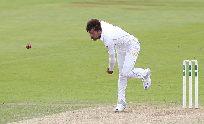 Mohammad Amir of Pakistan bowling during day two of the tour match between Somerset and Pakistan at The Cooper Associates County Cricket Ground on July 04, 2016 in London, England. (Getty Images)