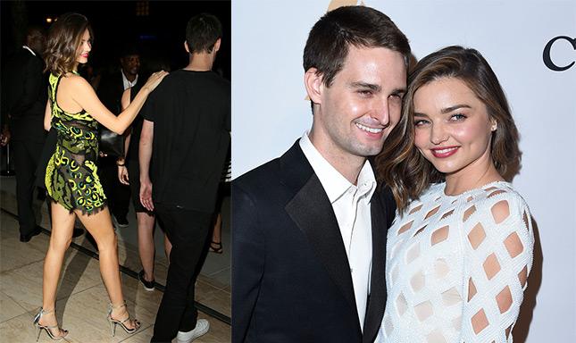 Miranda Kerr and Evan Spiegel getting engaged? - Emirates 24|7
