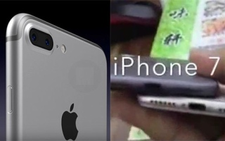Photo: No headphone jack iPhone 7 'revealed'