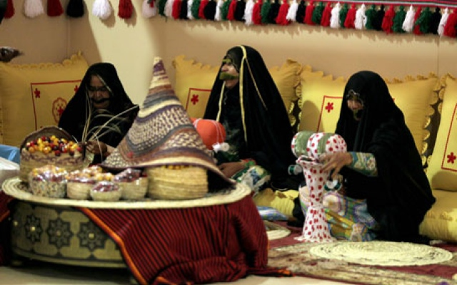 Emirati women weave bedouin tales into sweet delights at this market