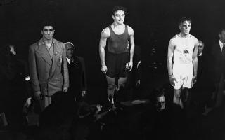 Photo: Lazlo Papp: Hungarian boxing great