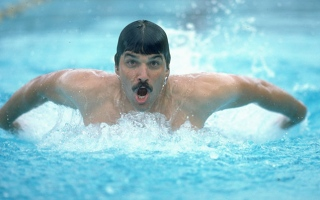 Photo: Mark Spitz: Damp squib to record-breaker