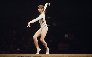 Photo: Nadia Comaneci: The perfect 10