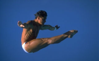 Photo: Greg Louganis: The greatest diver?