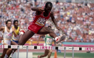 Photo: Edwin Moses: The 'man no one could beat'