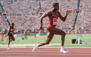 Photo: Carl Lewis: The heir to Owens