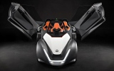 Photo: Nissan's electric car prototype BladeGlider looks like a dart