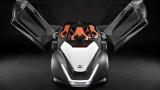 Photo: Nissan's electric car prototype BladeGlider looks like a dart