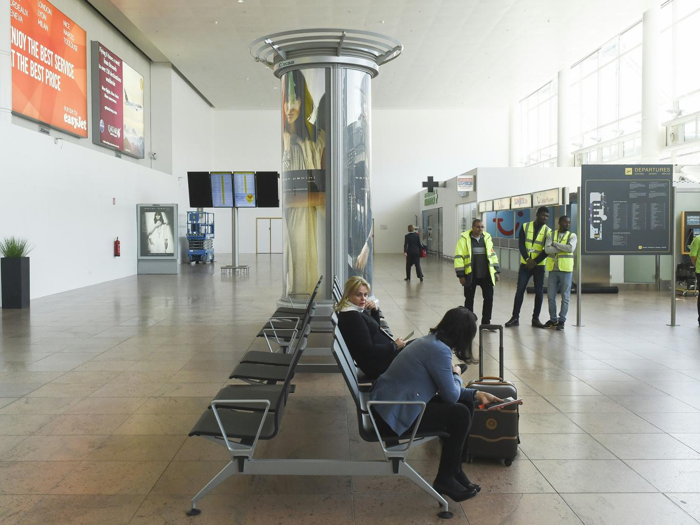 Bomb alerts have been reported on two passenger jets due to arrive at Brussels airport. (AFP)