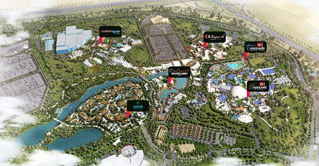 dubai parks and resorts to open gates on october 31