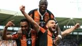 الصورة: Hull stun Leicester, Guardiola's City edge Sunderland