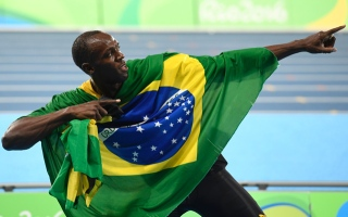 Photo: Bolt 'the greatest' bows out with nine golds