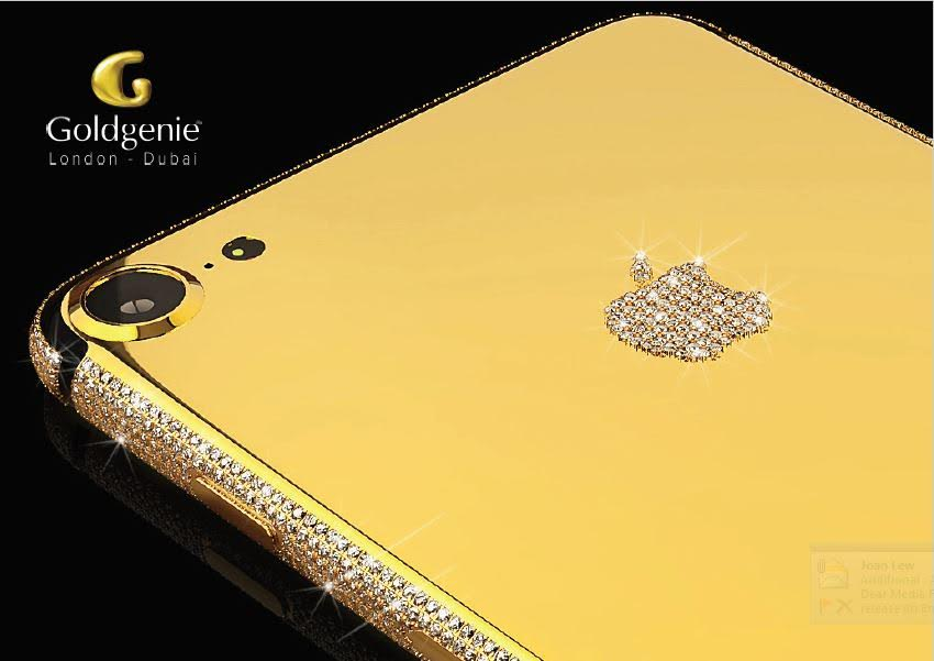 As Of 3pm UAE Time On August 25 2016 Gift And Specialist Gold Plating Company Goldgenie Begun Accepting Pre Orders For The New IPhone 7 Smartphones In
