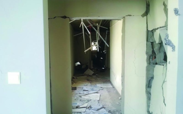 Two women, baby rescued from gas cylinder explosion at Al Khail Gate