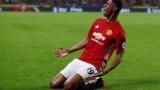 الصورة: Late show helps Mourinho's United join Chelsea on top