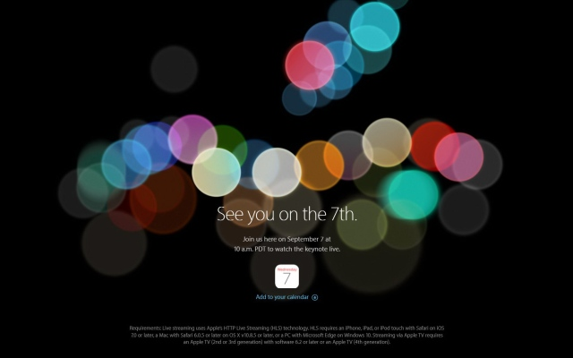 Apple confirms iPhone 7 launch date: Here's what the invite really reveals