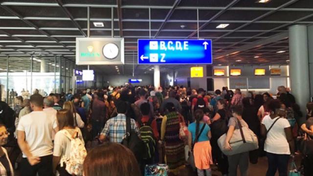 Frankfurt international airport evacuated over security breach