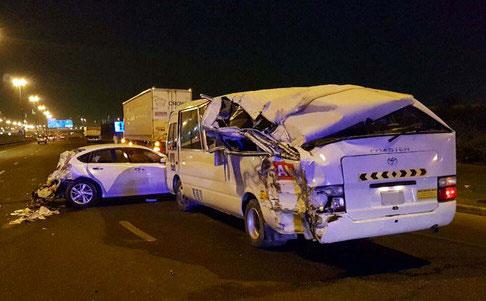 20 injured in Dubai car pile-up