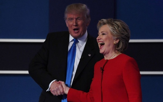 Who won the first Hillary Clinton, Donald Trump US presidential debate?