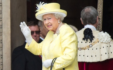 Photo: Queen Elizabeth's style will be explored in a new book