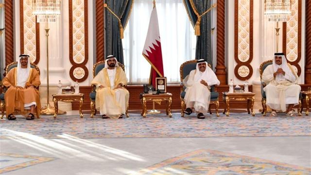 UAE Rulers offer condolences on death of Qatari Sheikh Khalifa bin Hamad Al Thani
