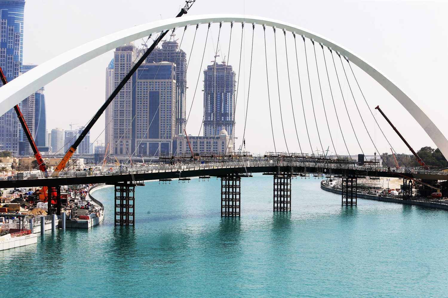 Iconic Dubai Water Canal Set To Officially Open Today