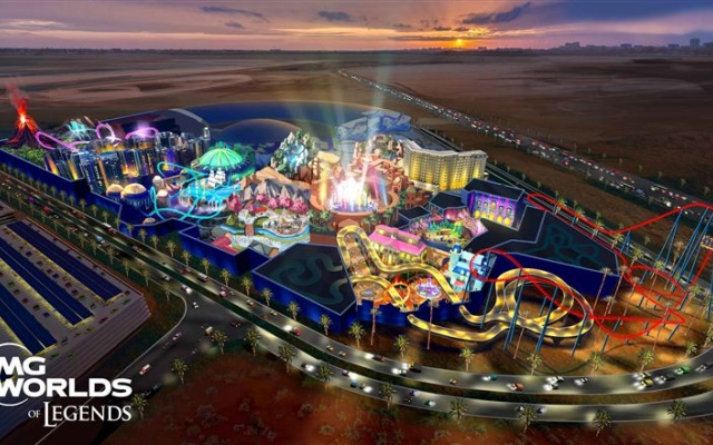 Dubai's IMG Worlds unveils newest theme park 'IMG Worlds of Legends'