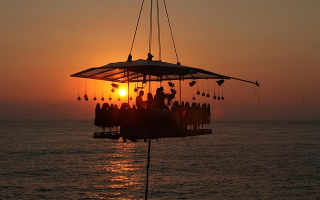 'Dinner in the Sky' returns to Dubai for a new season this December