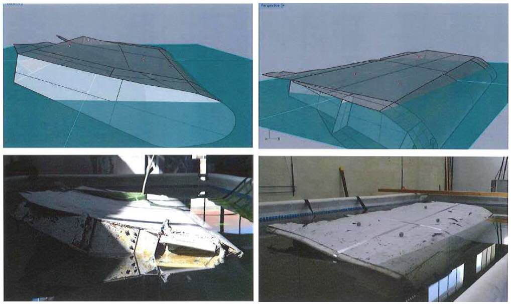 MH370 debris contradiction
