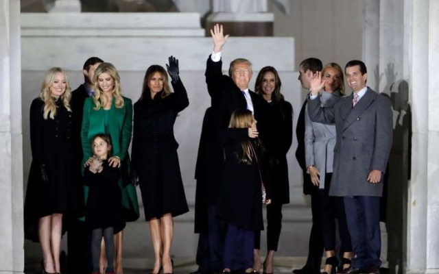 Inaugural cheers, fireworks: Trump sweeps in for his big day
