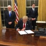 In first executive order, Trump tells agencies to ease ObamaCare burden