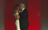 Photo: Donald and Melania Trump have 1st dance at inauguration ball