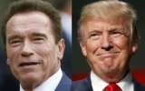 Photo: Donald Trump asks faith leaders to pray for Schwarzenegger's ratings