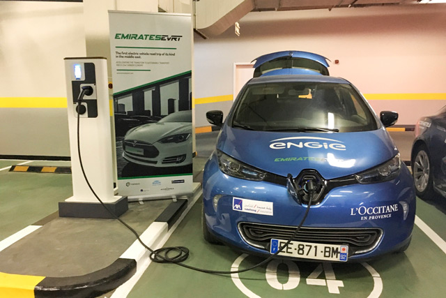 Uae S First Electric Vehicle Road Trip Unveils New Charging