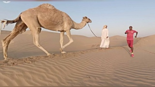 Photo: Gold medal-winning Olympian Mo Farah brings Dubai to life using 360-degree technology