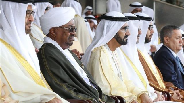 Mohammed bin Rashid and Mohamed bin Zayed receive IDEX delegations
