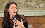 Photo: Angelina Jolie steps out solo in Cambodia
