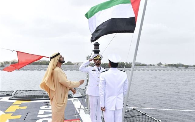VP commissions UAE-made Baynunah-class corvette Al Hili