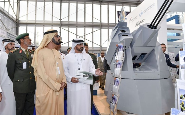 Sheikh Mohammed tours marine exhibition area at NAVDEX