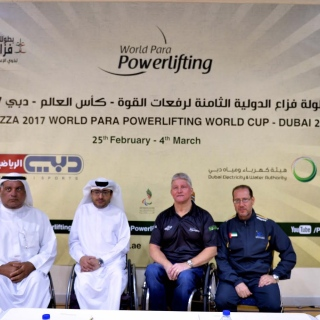 Photo: Record number of 194 entries for World Para Powerlifting World Cup in Dubai