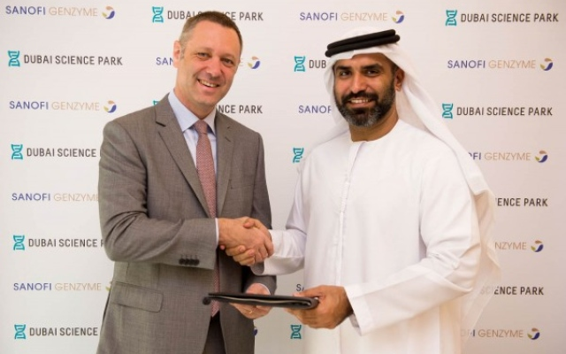 Dubai Science Park and Sanofi announce partnership to tackle rare diseases in Middle East