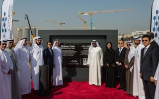 Ahmed bin Saeed lays foundation stone of Silicon Park Project