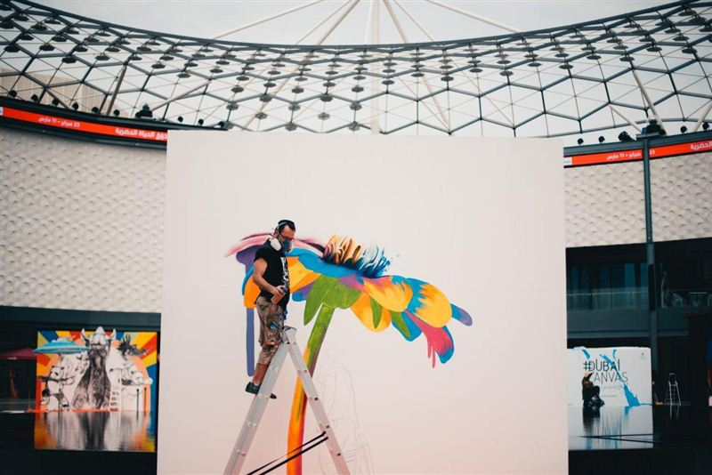 D Painting Exhibition In Dubai : Dubai canvas d art festival to open on march