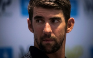 Photo: Phelps frustrated by Rio doping fears