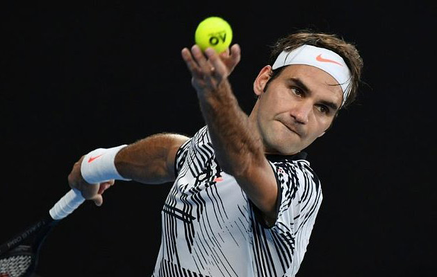 Roger Federer Photo: AFP